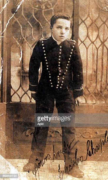 Charlie Chaplin has the age of 16 taking the role of Billy in the resumption of the play 'Sherlock Holmes' in 1905 Charlie Chaplin 16 at casting...