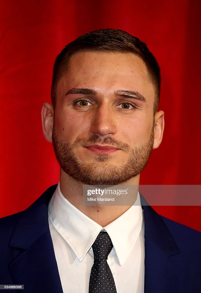 Charlie Clapham attends the British Soap Awards 2016 at Hackney Empire on May 28, 2016 in London, England.