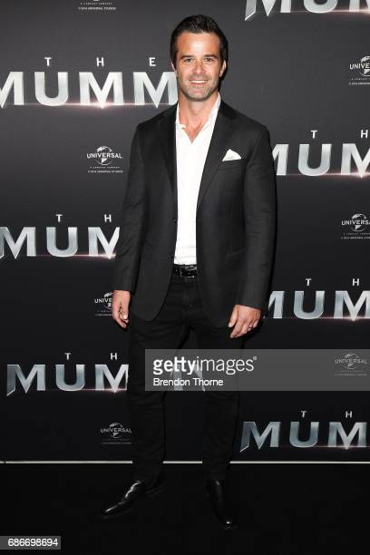 Charlie Clausen arrives ahead of The Mummy Australian Premiere at State Theatre on May 22 2017 in Sydney Australia