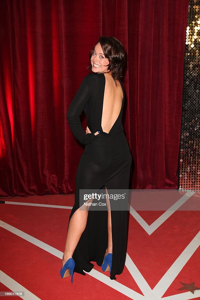 Charlie Clemmow attends The British Soap Awards 2013 at Media City on May 18, 2013 in Manchester, England.