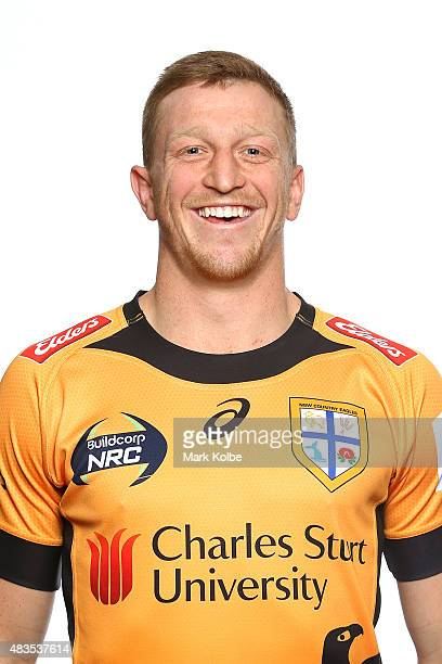 Charlie Clifton poses during the NSW Country Eagles Headshots Session at the NSW Rugby Union Offices on August 10 2015 in Sydney Australia