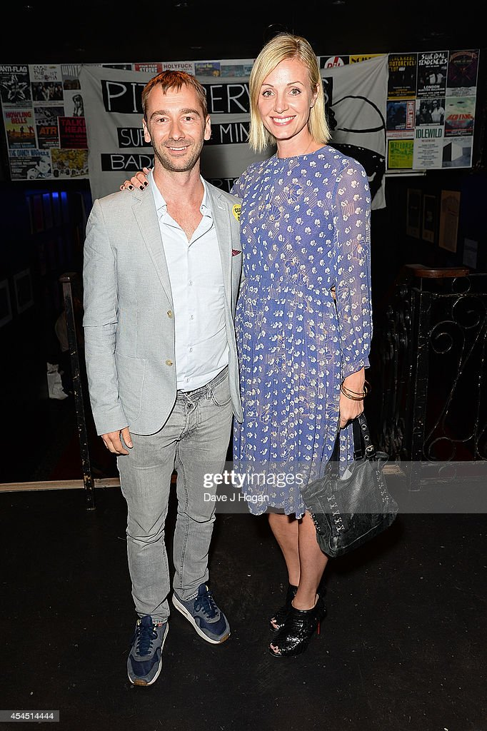 Charlie Condou and Elize du Toit attend an after party for 'Pride' at Odeon Camden on September 2, 2014 in London, England.