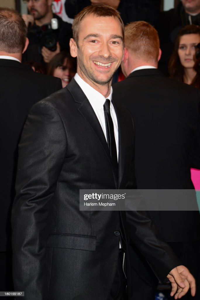 Charlie Condou sighted arriving at the Dorchester Hotel on September 9, 2013 in London, England.