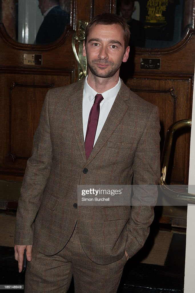 Charlie Condu attends the press night for the new cast of 'One Man, Two Guvnors' at Theatre Royal on October 17, 2013 in London, England.