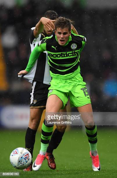 Charlie Cooper of Forest Green Rovers in action during the Sky Bet League Two match between Notts County and Forest Green Rovers at Meadow Lane on...
