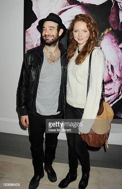 Charlie Cox and Lily Cole attend the 24 Hour Plays Celebrity Gala Party at the Corinthia Hotel London on November 13 2011 in London England