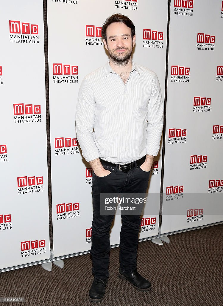 Charlie Cox attends 'Incognito' Cast Meet Greet at Manhattan Theatre Club Rehearsal Studios on April 8 2016 in New York City
