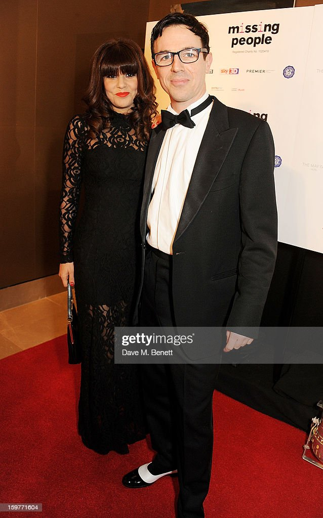 Charlie Creed-Miles (R) and guest arrives at the London Critics Circle Film Awards at the May Fair Hotel on January 20, 2013 in London, England.