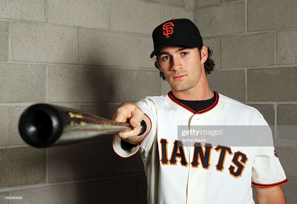 Charlie Culberson #33 of the San Francisco Giants poses during spring training photo day on March 1, 2012 in Scottsdale, Arizona.