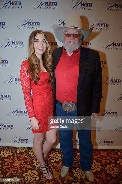 Charlie Daniels and guests attend the 4th annual NATD awards at Hermitage Hotel on November 11 2014 in Nashville Tennessee