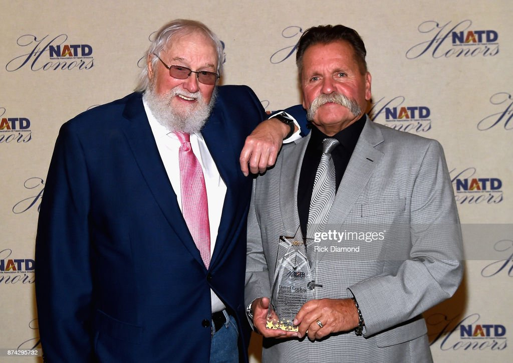 Charlie Daniels and honoree David Corlew attend the 2017 NATD Honors Gala at Hermitage Hotel on November 14, 2017 in Nashville, Tennessee.