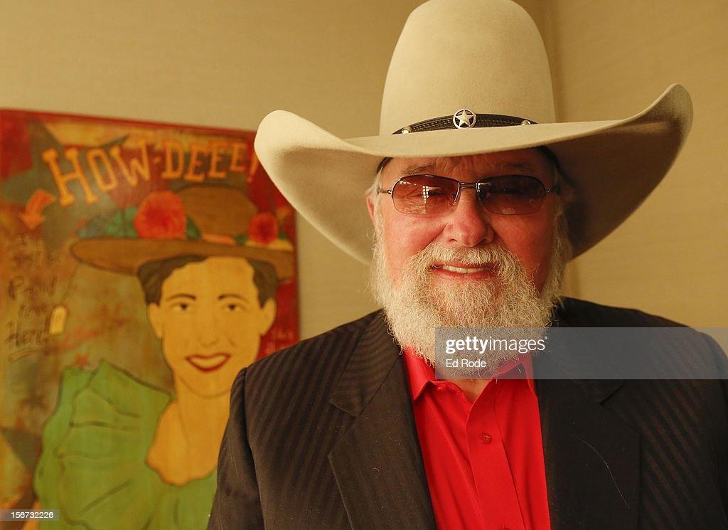 Charlie Daniels at Ryman Auditorium on November 19, 2012 in Nashville, Tennessee.