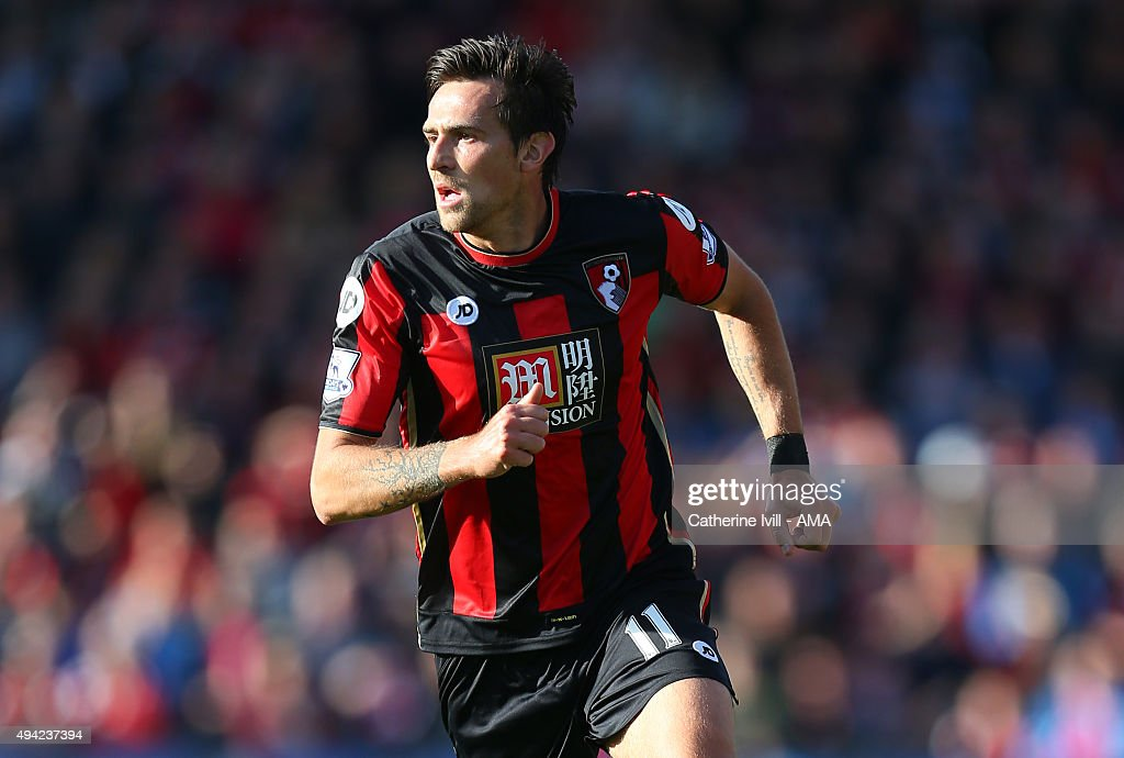 Charlie Daniels of Bournemouth during the Barclays Premier League match between AFC Bournemouth and Tottenham Hotspur at Vitality Stadium on October...