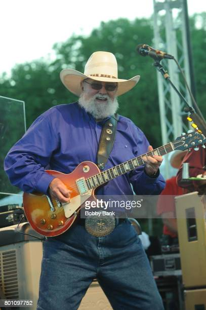 Charlie Daniels of The Charlie Daniels Band performs at the 8th Annual Rock Ribs Ridges Festival at Sussex County Fairgrounds on June 25 2017 in...
