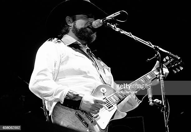 Charlie Daniels performs during Charlie Daniels Volunteer Jam VII at the Municipal Auditorium in Nashville Tennessee January 12 1980