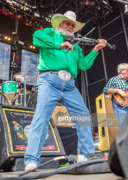 Charlie Daniels performs during day 2 of Faster Horses Festival at Michigan International Speedway on July 22 2017 in Brooklyn Michigan