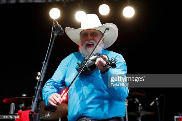 Charlie Daniels performs on 'Fox Friends' at FOX Studios on June 16 2017 in New York City