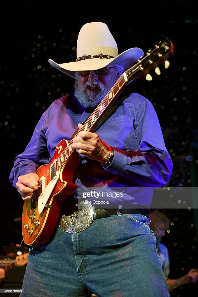 Charlie Daniels performs onstage at One More For The Fans Celebrating the Songs Music of Lynyrd Skynyrd at The Fox Theatre on November 12 2014 in...