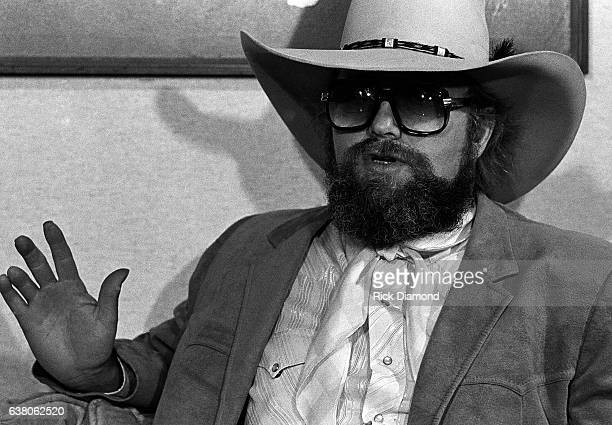 Charlie Daniels press conference during Charlie Daniels Volunteer Jam VII at the Municipal Auditorium in Nashville Tennessee January 12 1980
