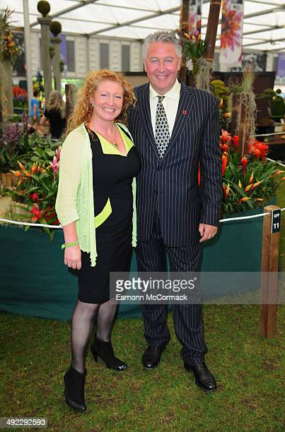 Charlie Dimmock and Tommy Walsh attend the VIP preview day of The Chelsea Flower Show at The Royal Hospital Chelsea on May 19 2014 in London England