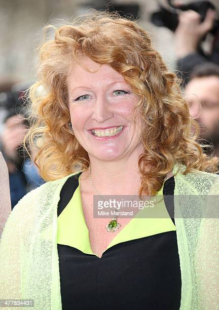 Charlie Dimmock attends the 2014 TRIC Awards at The Grosvenor House Hotel on March 11 2014 in London England