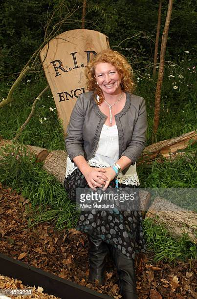 Charlie Dimmock attends the Chelsea Flower Show Press and VIP Day at Royal Hospital Chelsea on May 23 2011 in London England