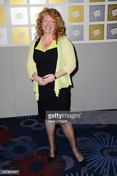 Charlie Dimmock attends the TRIC awards 2014 at the Grosvenor House Hotel on March 11 2014 in London England