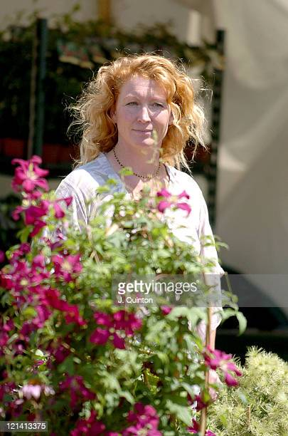 Charlie Dimmock during Hampton Court Flower Show at Hampton Court in London Great Britain