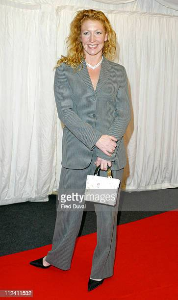 Charlie Dimmock during ITV's 'Hell's Kitchen' May 28 2004 Arrivals at Brick Lane in London United Kingdom