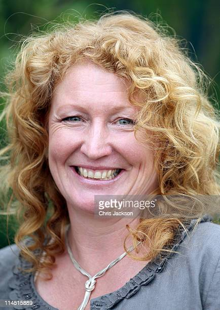 Charlie Dimmock poses for a photo during Chelsea Flower Show Press and VIP Day on May 23 2011 in London England