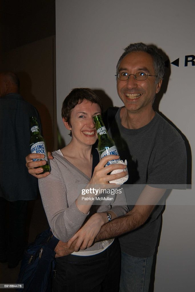 Charlie Edwards and Jack Mello attend New Museum Hosts Opening Reception for Aernout Mik's Refraction Rhizome Artbase 101 at New Museum Of...