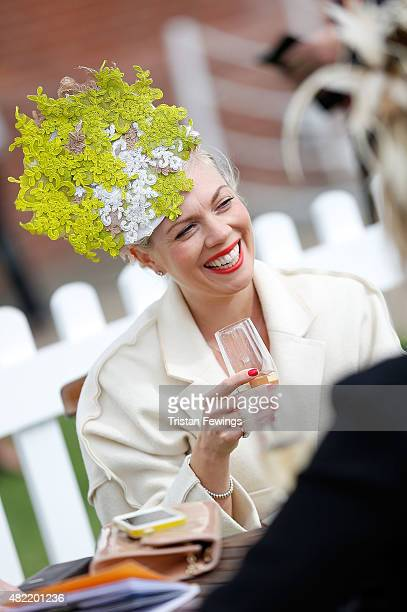 Charlie ElmyBritton on day one of the Qatar Goodwood Festival at Goodwood Racecourse on July 28 2015 in Chichester England