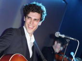 Charlie Fink of Noah and the Whale performs at the launch of Project Ocean at Selfridges on May 11 2011 in London England