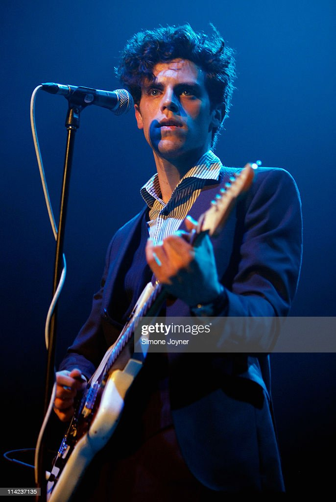 Charlie Fink of Noah And The Whale performs live on stage at The Roundhouse on May 16 2011 in London England