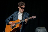 Charlie Fink of Noah And The Whale performs on stage on Day 3 of Electric Picnic Festival 2013 at Stradbally Hall Estate on September 1 2013 in...