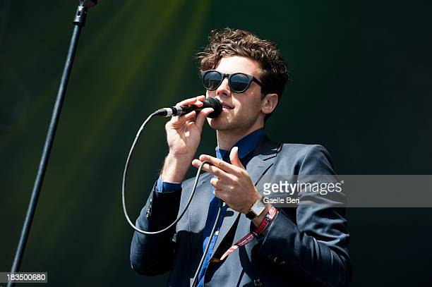 Charlie Fink of Noah and the Whale performs on stage on Day 3 of Austin City Limits Festival at Zilker Park on October 6 2013 in Austin Texas