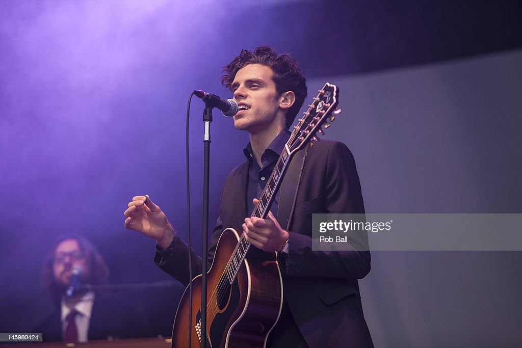 <a gi-track='captionPersonalityLinkClicked' href=/galleries/search?phrase=Charlie+Fink&family=editorial&specificpeople=5441288 ng-click='$event.stopPropagation()'>Charlie Fink</a> performs with Noah and the Whale at RockNess festival at Village Of Dores on June 8, 2012 in Inverness, Scotland.
