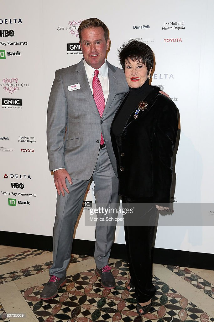 Charlie Finlay (L) and <a gi-track='captionPersonalityLinkClicked' href=/galleries/search?phrase=Chita+Rivera&family=editorial&specificpeople=206571 ng-click='$event.stopPropagation()'>Chita Rivera</a> attend the GMHC 2014 Spring Dinner Gala at Cipriani 42nd Street on March 26, 2014 in New York City.