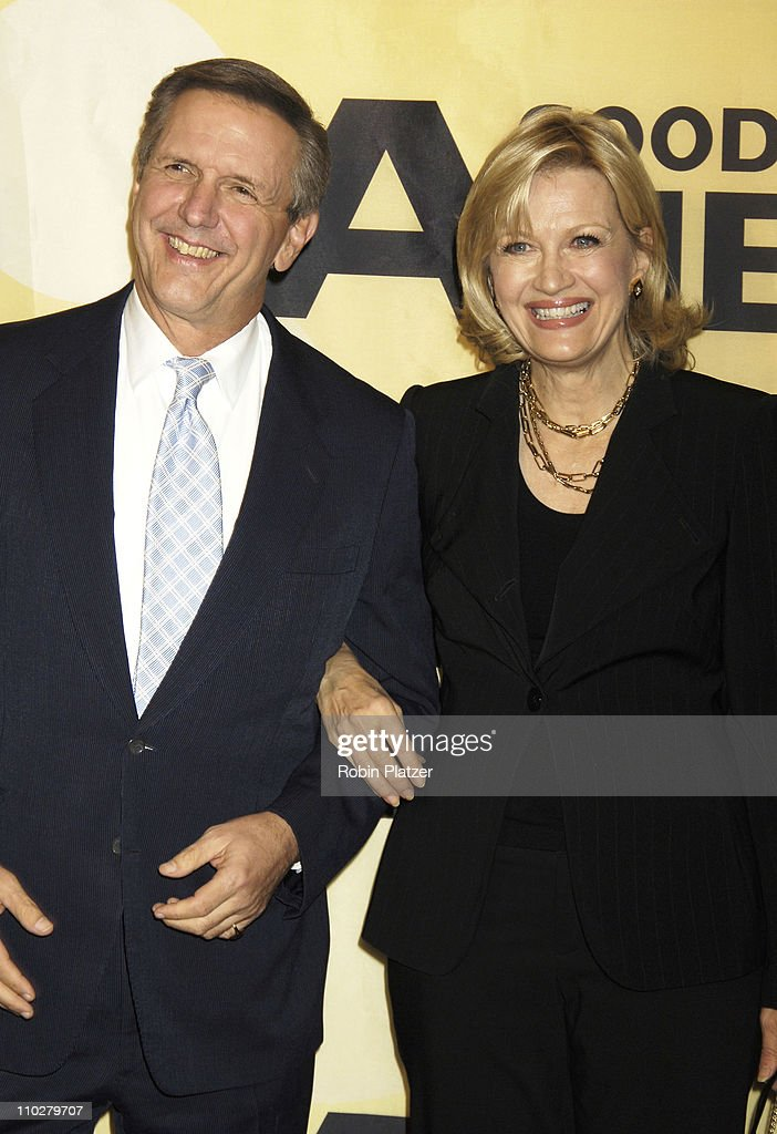 Good Morning America Diane Sawyer : Charles gibson getty images