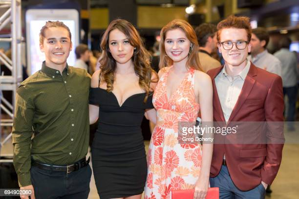 Charlie Gilespie Jasper Polish Serena Laurel and Justin Tinucci attend the 20th Annual Dances With Films Premiere Of 'Devil's Whisper' at TCL Chinese...