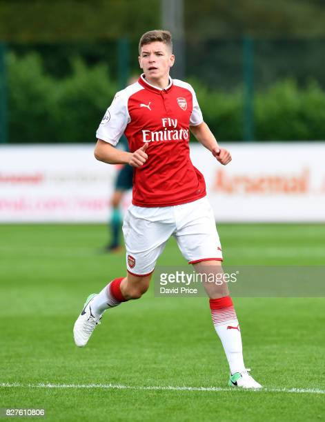 Charlie Gilmour of Arsenal during the match between Arsenal U23 and Watford U23 at London Colney on August 8 2017 in St Albans England