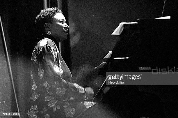 Charlie Haden and Geri Allen performing at the Knitting Factory on June 8 1999This imageGeri Allen