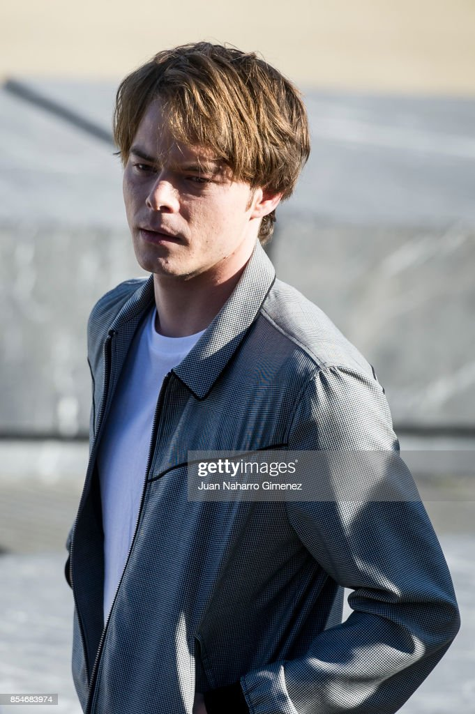 Charlie Heaton attends 'Marrowbone' photocall during 65th San Sebastian Film Festival on September 27, 2017 in San Sebastian, Spain.