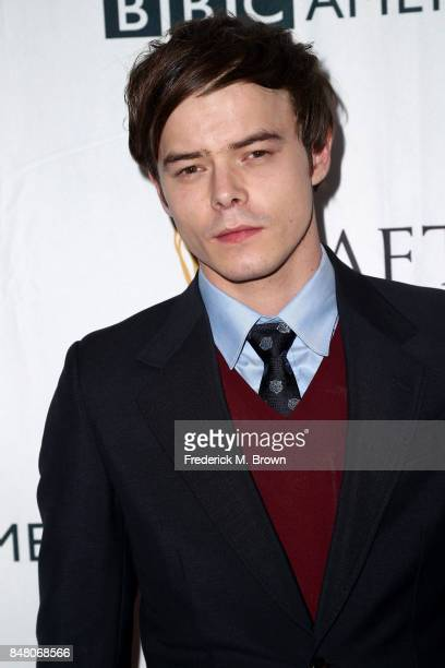 Charlie Heaton attends the BBC America BAFTA Los Angeles TV Tea Party 2017 at The Beverly Hilton Hotel on September 16 2017 in Beverly Hills...