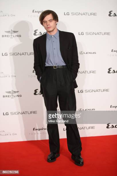 Charlie Heaton attends the Esquire Townhouse with Dior party at No 11 Carlton House Terrace on October 11 2017 in London England