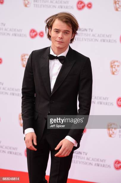 Charlie Heaton attends the Virgin TV BAFTA Television Awards at The Royal Festival Hall on May 14 2017 in London England