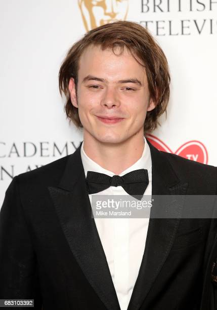 Charlie Heaton poses in the Winner's room at the Virgin TV BAFTA Television Awards at The Royal Festival Hall on May 14 2017 in London England