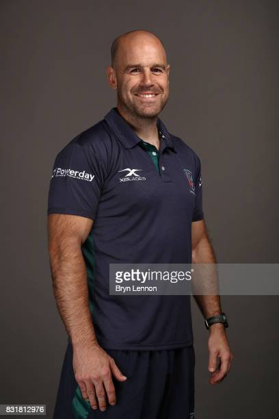 Charlie Hodgson of London Irish poses for a portrait during the London Irish squad photo call for the 20172018 Aviva Premiership Rugby season on...