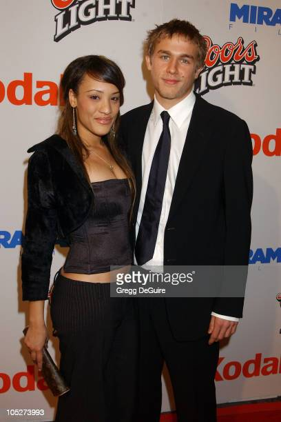 Charlie Hunnam and guest during 'Cold Mountain' Los Angeles Premiere at Mann National Theatre in Westwood California United States