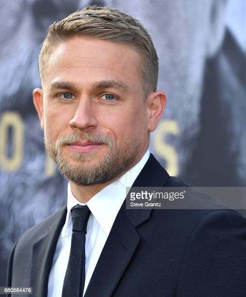 Charlie Hunnam arrives at the Premiere Of Warner Bros Pictures' 'King Arthur Legend Of The Sword' at TCL Chinese Theatre on May 8 2017 in Hollywood...